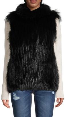 Gorski Silver Fox Fur Vest