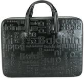 Baldinini embossed briefcase