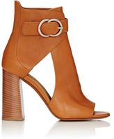 Chloé Women's Open-Toe Ankle Boots-BEIGE