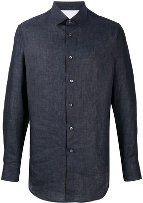 Brioni Long-Sleeve Fitted Shirt