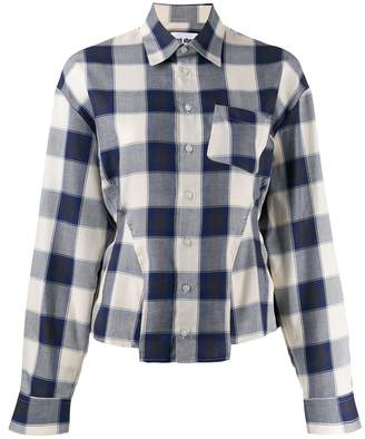 Each X Other fitted flannel shirt