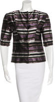 Louis Vuitton Silk Striped Blouse