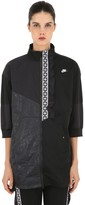Nike NSW TAPED PACKABLE PATCHWORK SWEATSHIRT