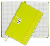 Pantone NEW Sulphur Spring Pocket Grid Elastic Band Notebook