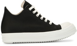 Rick Owens High Top Lace Up Sneakers
