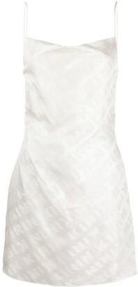 Kirin Logo Print Mini Dress