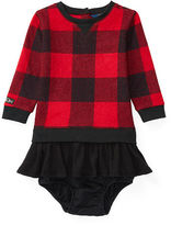 Ralph Lauren Ruffled Fleece Dress & Bloomer
