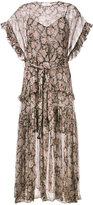 Zimmermann paisley print dress - women - Polyester/Spandex/Elastane - 3