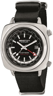 Briston Clubmaster Traveler Worldtime Gmt Automatic, Steel, Black Dial LIMITED EDITION