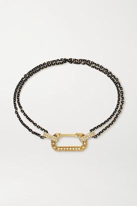 EÉRA Lucy Gold And Diamond Bracelet