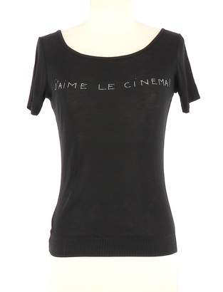 agnès b. Black Cotton Top for Women