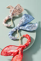 Anthropologie Bandana Pony Holder Set