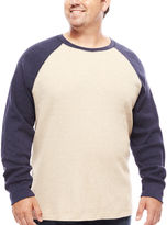THE FOUNDRY SUPPLY CO. The Foundry Big & Tall Supply Co. Long-Sleeve Waffle-Weave Shirt