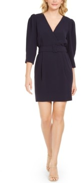 Marella Belted Surplice Dress
