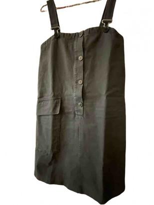 Masscob Navy Cotton Dress for Women