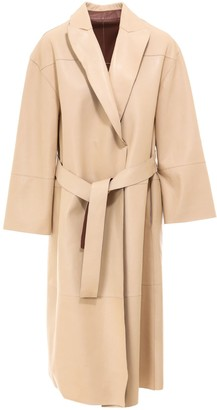 Brunello Cucinelli Reversible Belted Trench Coat