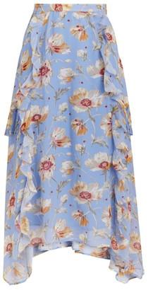 Paige Mabel Silk Skirt