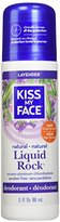 Kiss My Face Deodorant Liquid Rock Roll-On, Lavender, 3 Ounce (pack of 6)