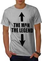 Legend Cool Joke Funny Men XXXL T-shirt | Wellcoda