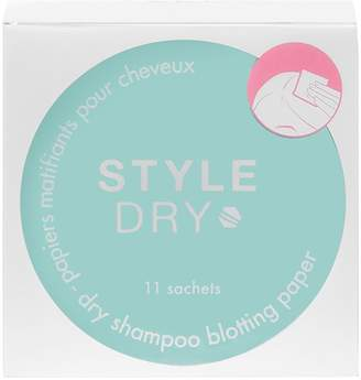 STYLEDRY Blot & Go Dry Shampoo Blotting Paper - Coconut Breeze