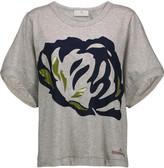 adidas by Stella McCartney Printed cotton T-shirt