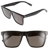 Marc Jacobs Women's 54Mm Polarized Sunglasses - Black/ Polar