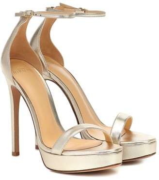 Alexandre Birman Cindy leather platform sandals
