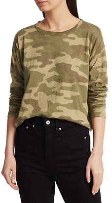 Rag & Bone Camo Long-Sleeve T-Shirt