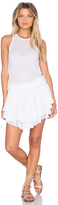Cecilia Prado Lucia Tiered Crochet Mini Dress