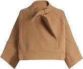 Chloé Neck-strap wool-blend jacket