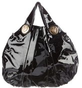 Gucci Large Hysteria Patent Leather Bag