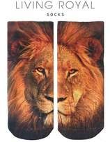 LIVING ROYAL Lion Ankle Socks