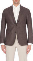 Richard James Single-breasted Basketweave Wool Jacket