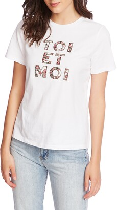 Court & Rowe Embroidered Tee