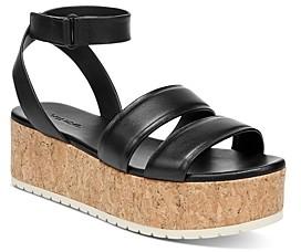 Vince Women's Jet Cork Platform Sandals