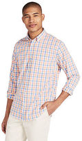 Aeropostale Mens Long Sleeve Multicolor Gingham Woven Shirt