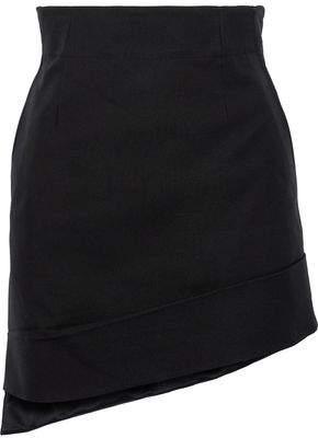 Helmut Lang Asymmetric Canvas Mini Skirt