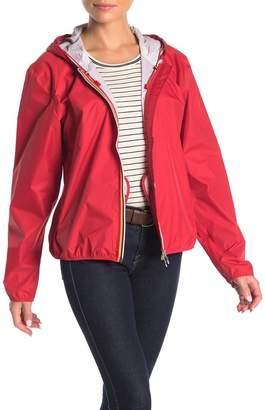 K-Way Front Zip Hooded Jacket