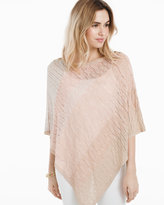 White House Black Market Ombre Poncho Sweater