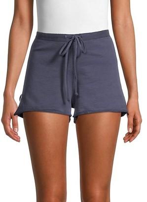 Hard Tail Star Cotton Drawstring Shorts