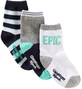 Osh Kosh 3-Pack Epic Crew Socks