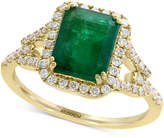 Effy Final Call by Emerald (2-1/5 ct. t.w.) & Diamond (1/3 ct. t.w.) Ring in 14k Gold