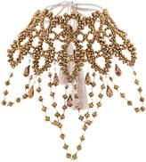 Night Market beaded oversized choker necklace