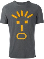 Fendi face appliqué T-shirt - men - Cotton/Viscose - 46