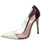 Gianvito Rossi Plexi Multicolour Mink Heels