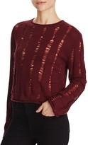 Alexander Wang Wool Crop Sweater