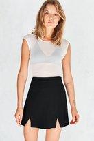 Cooperative Kendric Notch-Hem Mini Skirt