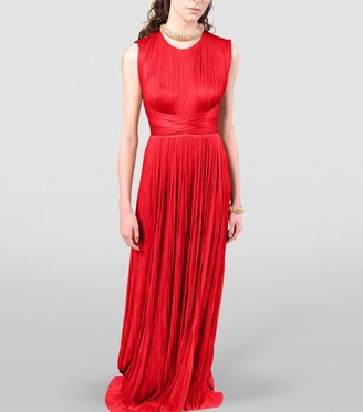 Maria Lucia Hohan Adela Pleated Gown