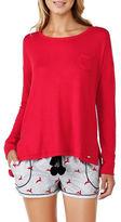 Kensie Long Sleeve Pyjama Top