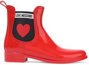 Love Moschino Rubber Rain Boots